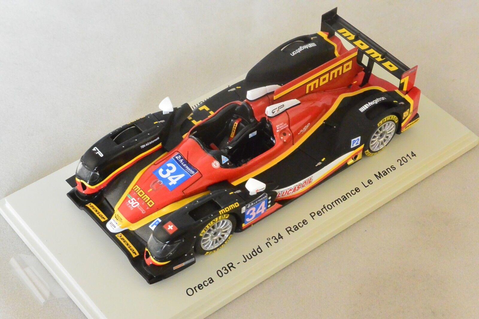 Spark S4215 - ORECA 03R Judd Race Perf. n°34 13ème Le Mans 2014 Frey - 1 43