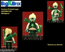 ARTEMISE CROCK DC Young Justice Custom Printed LEGO Minifigure Minifig