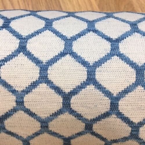 Price per 1//2 metre Peacock Blue Chenille Fabric