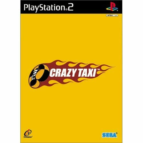 Used PS2 Crazy Taxi Japan Import