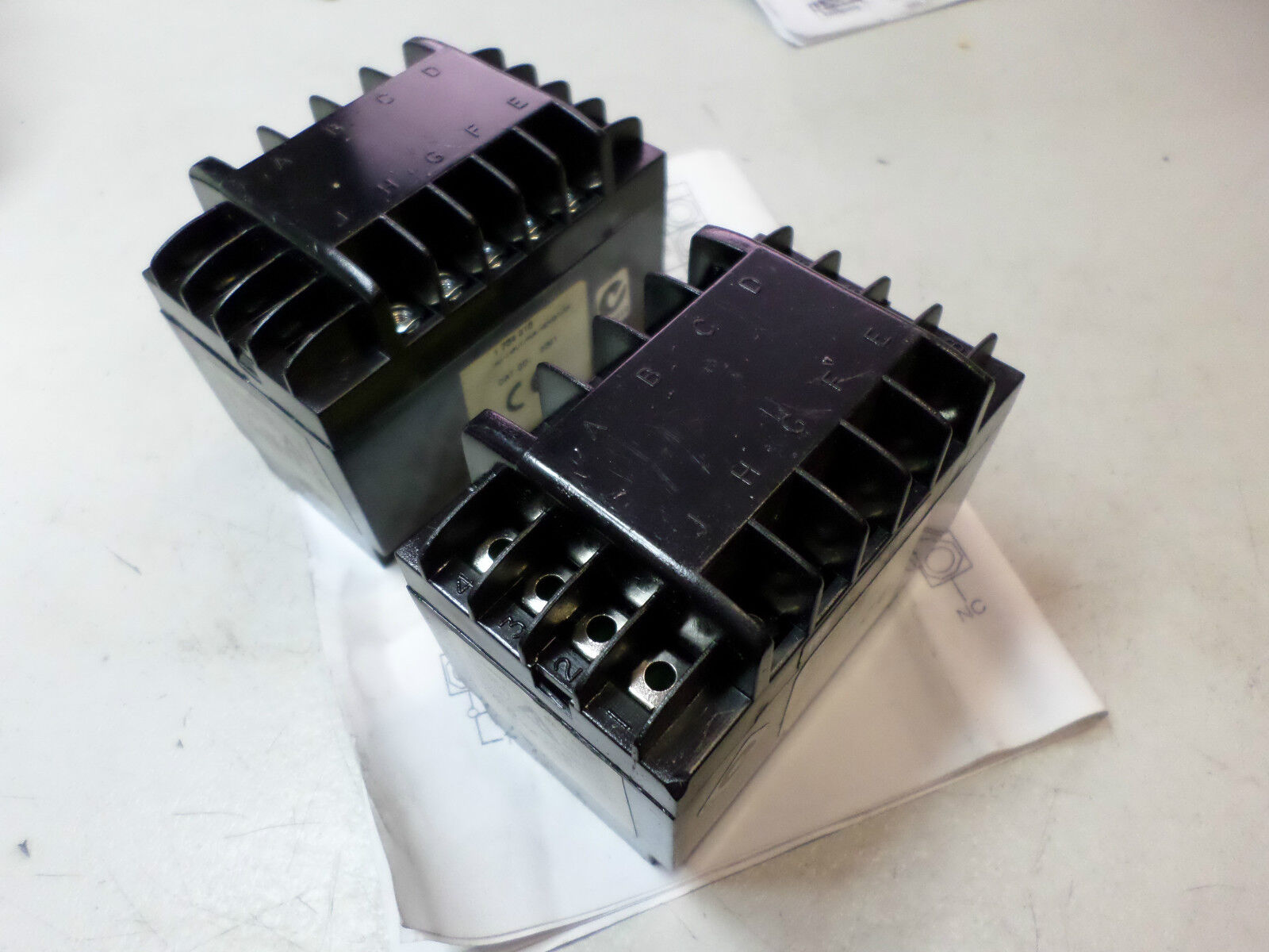 HENGSTLER HV INPUT POWER RELAY FOR TICO 734 -- 1 734 016 -- Qty of 2 --