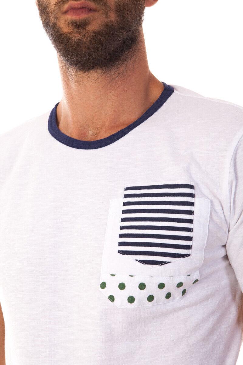 T shirt Maglietta Daniele Alessandrini Sweatshirt Uomo Bianco Bianco Bianco M5778E6473600 2 d9d8ed