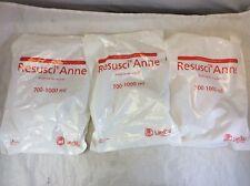Lot 3x New Laerdal Resusci Anne Manikin Skillmeter Disposable Airway 700 1000ml