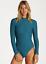 NEW BILLABONG Tanlines Bodysuit Rashguard  LAGOON XR04VBTA JUNIOR/'S SIZE