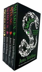 Joss-Stirling-4-Book-Collection-Struck-Stung-Scorched-Shaken