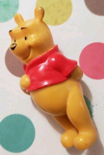 "3/"" TALL CAKE TOPPER PVC DISNEY WINNIE THE POOH BEAR FIGURE APPROX"