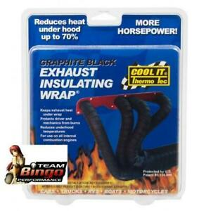 COOL IT Thermo Tec Exhaust Wrap Heat Insulating Tape Graphite Header Wrap AUD