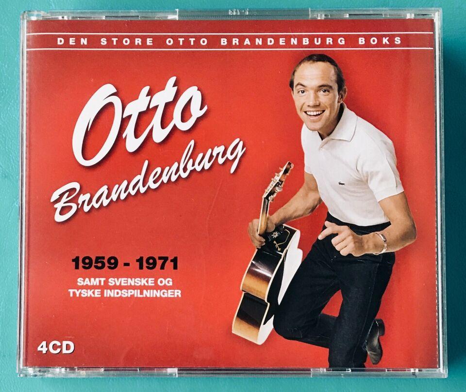 Otto Brandenburg (4CD): Den store Otto Brandenburg boks