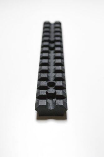 """Stainless steel Picatinny Rail Gun Rifle Air Shotgun Airsoft 5.5/"""" 140mm x 21mm"""