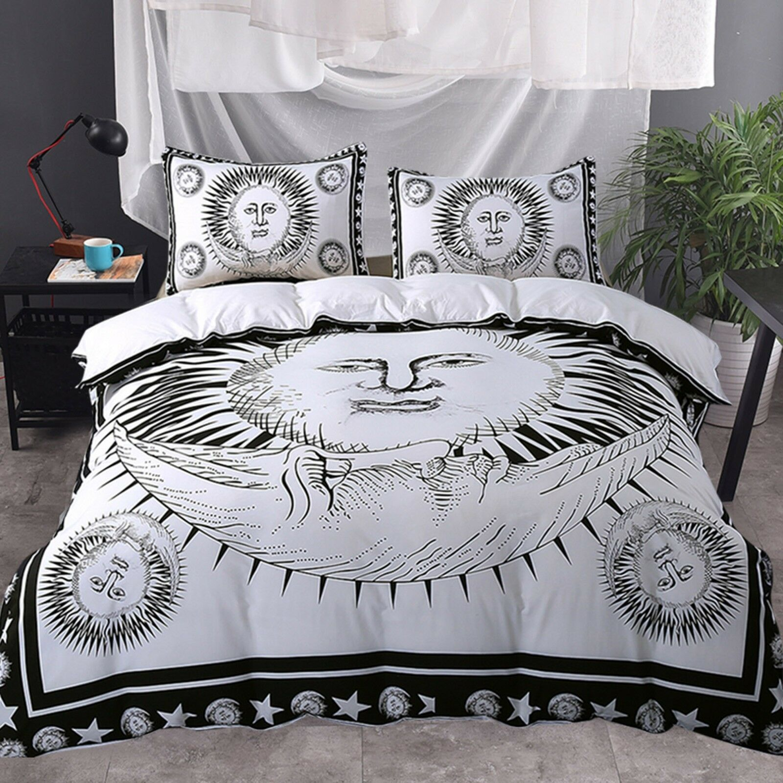3D Sun God 62 Bed Pillowcases Quilt Duvet Cover Set Single Queen King AU Carly