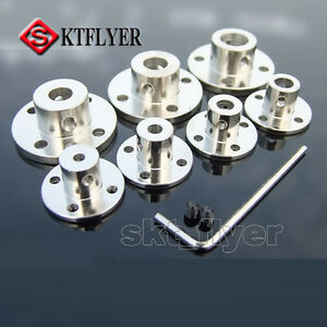 Flange-Coupling-Rigid-Flange-Metal-Guide-Shaft-Axis-Bearing-Seat-Motor-Connector