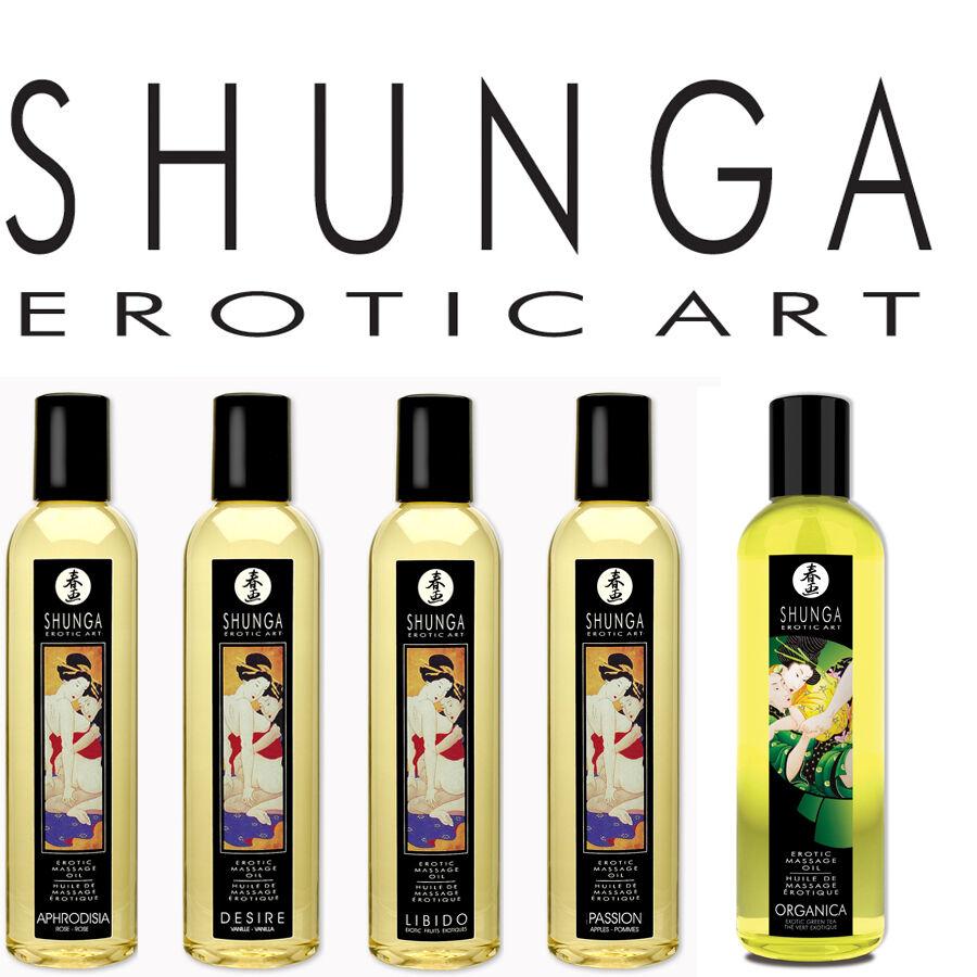 Масло для тела shunga