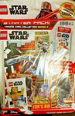 125 Karten Lego® Star Wars™ Trading Cards 25 Booster