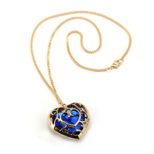 Gold plated heart container zelda necklace the legend of zelda mana image is loading gold plated heart container zelda necklace the legend aloadofball Choice Image