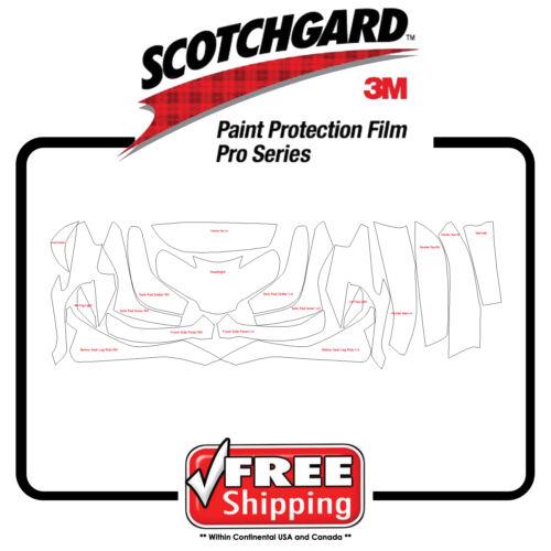 Present 3M 948 PRO SERIES Paint Protection Film Kit Fits BMW R1200 RT 2014