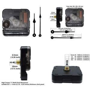 Include-Hands-Quartz-DIY-Wall-Clock-Movement-Mechanism-Battery-Operated-DIY-Repa