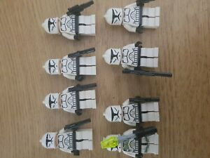 LEGO-STAR-WARS-Clone-Troopers-X8-authentique