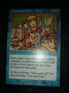 Show and Tell played MTG Urza/'s Saga Magic