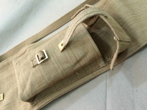 WWII BRITISH WEB CARRY CASE for the SMLE Lee-Enfield Rifle Reproduction Gift