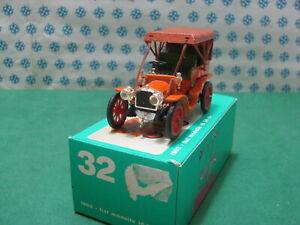 Vintage-FIAT-mod-16-24-Cv-1903-1-43-Rio-n-32-Mint-box