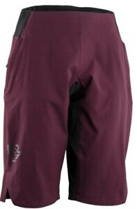Race-Face-Women-039-s-Traverse-Shorts-Boudeaux-Dark-Purple-Medium