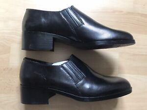 Chaussures Homme noires de danse ou de ville avec talons hauts-Taille 39-Neuves