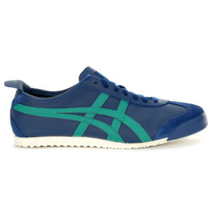 ASICS Men's Onitsuka Tiger Mexico 66 Independence Blue Sneakers 1183A201.400 NEW