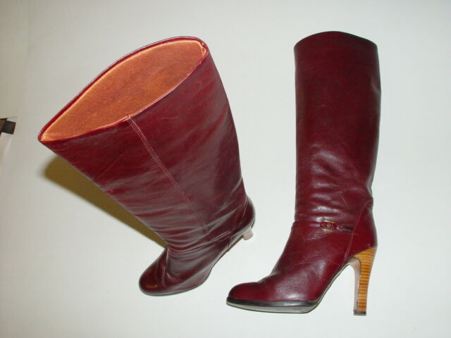 VTG The Wild Pair Maroon Leather 4