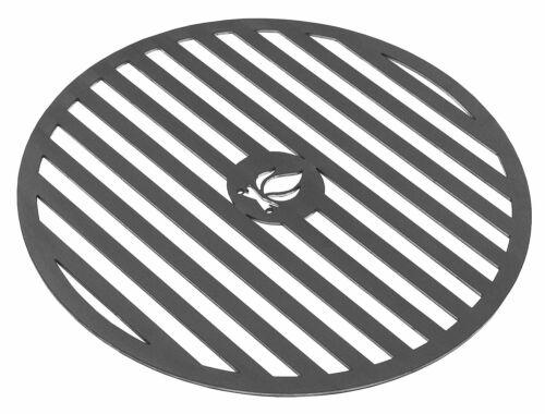 Grillplatte Feuerplatte mit Gitter Ø 102 Stahl 50 cm für Korono-Feuerschalen