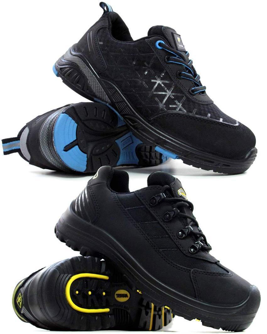 Terra pour Homme en acier toe cap sécurité bottes en cuir à randonnée formateurs chaussures taille