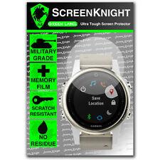 Screenknight Garmin Fenix 5S Militar Escudo protector de pantalla [42mm caso]