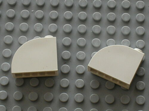 Lego white Brick 1 x 3 x 2 Curved Top ref 33243 Set 7470 10225 7699 10186 8682