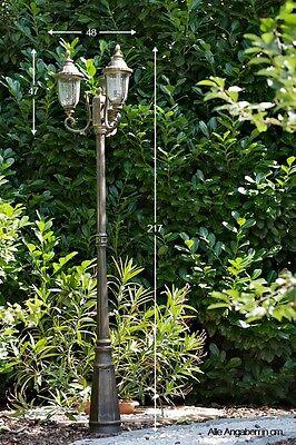 Gartenlaterne Kandelaber Außenlampe Stehlampe Laterne Gartenlampe Wegelampe