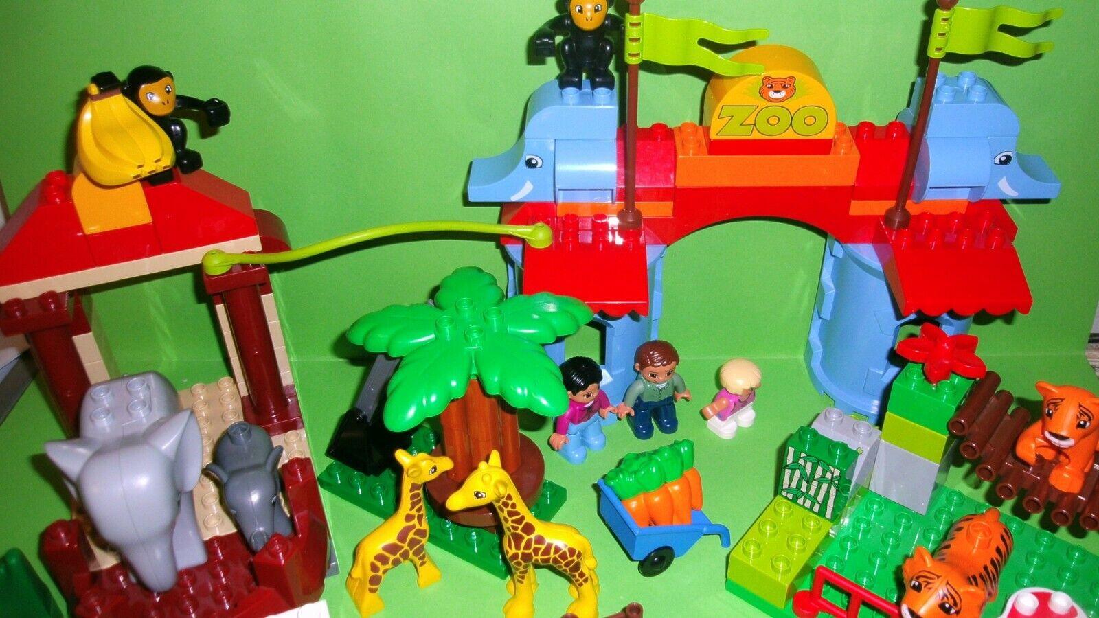LEGO 5635  DUPLO zoo+4962 gree animale bambino, elefanti, scimmie,...  vendita scontata online di factory outlet