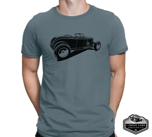 Hot Rod 1932 Roadster High Boy T Shirt Classic Car Shirt Rat Rod T Shirt
