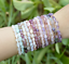 miniature 4 - Crystal Gemstone Bead Bracelet Chakra Natural Stone Reiki Healing Anxiety Stress