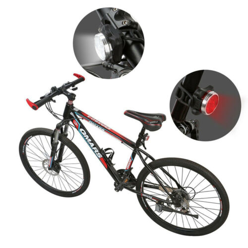 USB Rechargeable Bike Light Super Bright Front Headlight Rear LED Bicycle Light