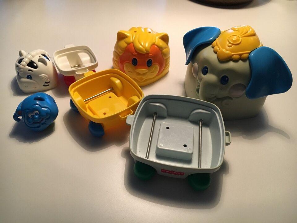 Andet legetøj, Samlebil, Fischer Price