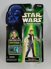 STAR WARS POTF SERIES COMMTECH CANTINA HAN SOLO TATOOINE SMUGGLER FIGURE