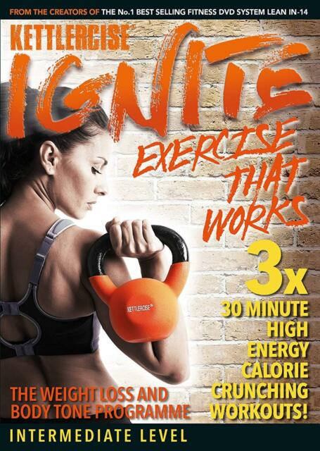 Kettlercise Ignite | Intermediate to Advanced | New Home Exercise/Workout DVD