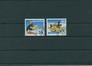 Switzerland-vintage-yearset-1999-Mi-1673-1674-Postmarked-Used-More-Shop