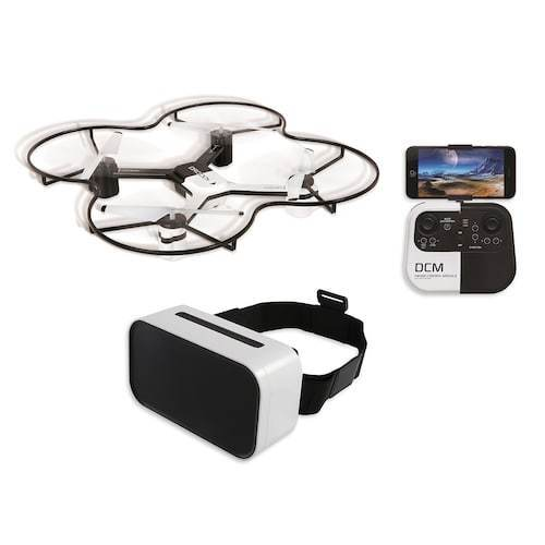 Sharper Image Platinum Series Fpv Streaming Drone With Vr Headset Rp