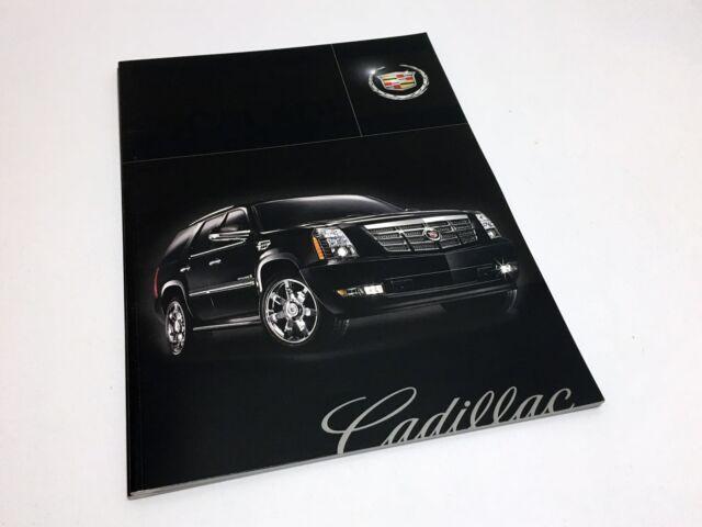 2009 Cadillac Escalade ESV Hybrid EXT Brochure   eBay