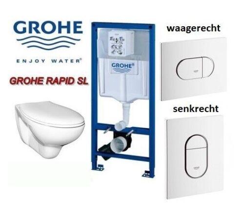 Grohe Pretext Element Wall WC Complete Set tiefspüler Arena horizontally//vertically