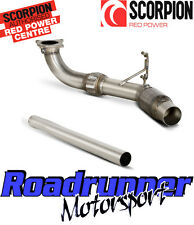 SCORPION GOLF MK6 R DOWNPIPE & SPORTS CAT EXHAUST STAINLESS FITS TO OE SVWX038