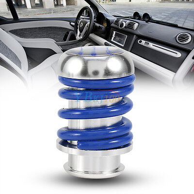 Universal 5 Speed Aluminum Manual Car Gear Blue Shifter Stick Shift Knob Lever
