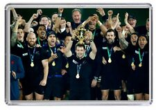 New Zealand All Blacks Rugby World Cup 2015 England Fridge Magnet 01