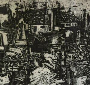Karl-Heinz-Boehme-XX-grosse-Radierung-1967-034-BAHNHOF-IM-BAU-034-hand-signiert