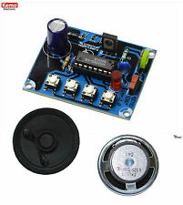 Dampflokgeräusch mit Dampfpfeife und Glocke mit Lautsprecher von Kemo B207