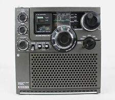 Sony Icf-5900w Short Wave Receiver Radio Portable Multi Band Spread Dial  Vtg Ham